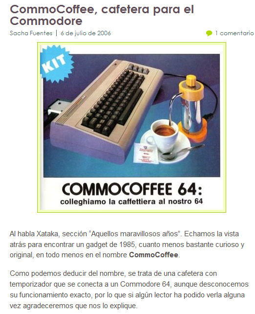 Commocoffee in the world... :-) - Clicca per ingrandire...